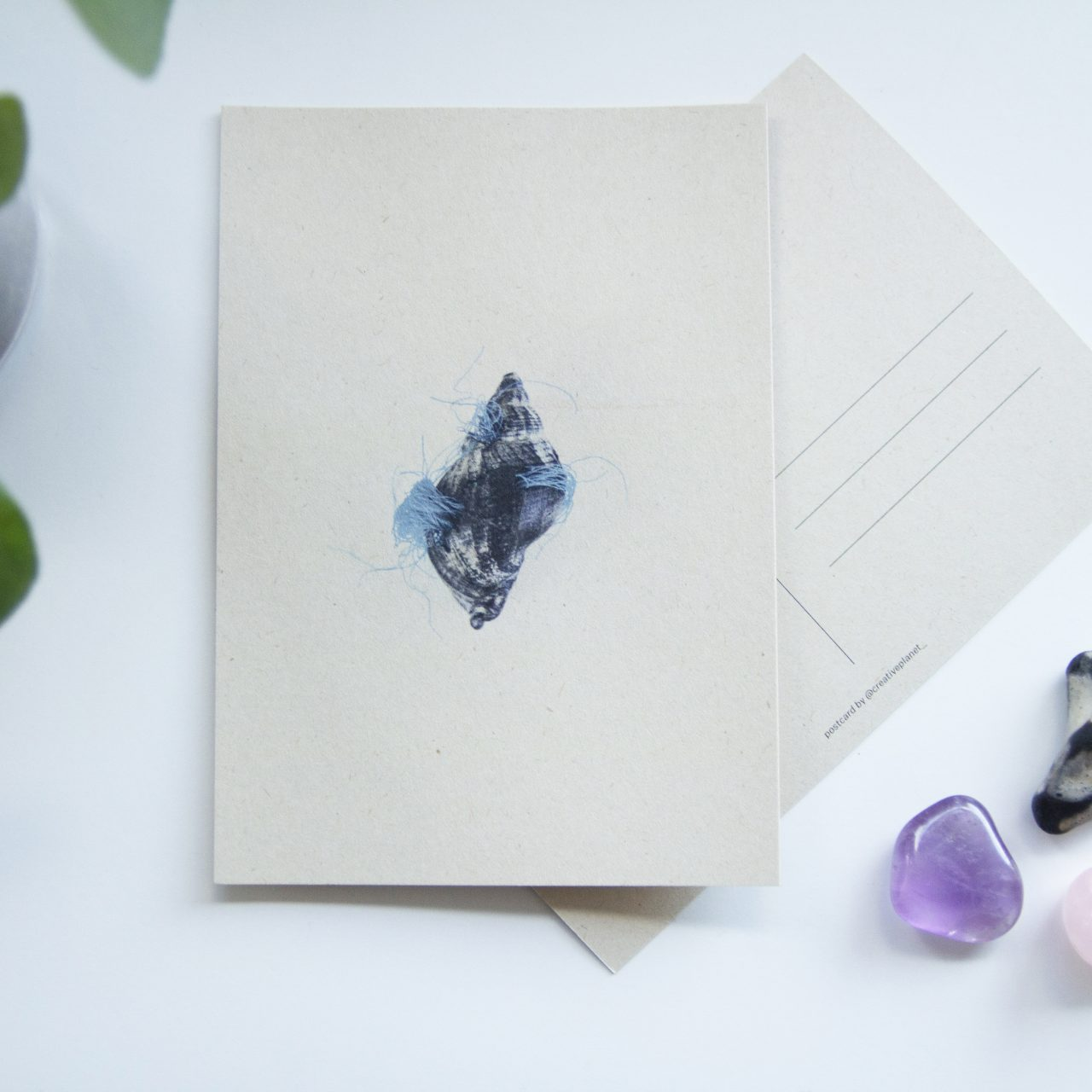 Post Card Creative Planet Etsy