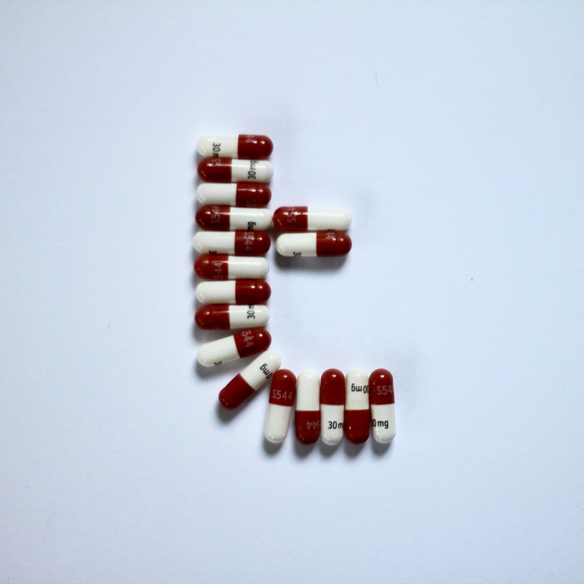 Take Your Pills Typography Experiment